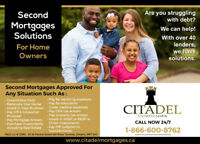 Second Mortgage NO CREDIT OR INCOME REQUIRED – FREE APPRAISAL