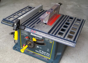 Table Saw Mastercraft  10 in