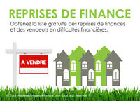 Reprises de finance Grand Montreal Foreclosures Greater Montreal