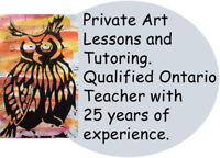 Private Tutoring and Art Lessons