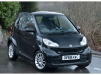 Smart fortwo 1.0 ( 71bhp ) Passion 2010 MY. BLACK