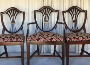 Elegant Antique 7pc Dining Set, by Drexel, newly refinished