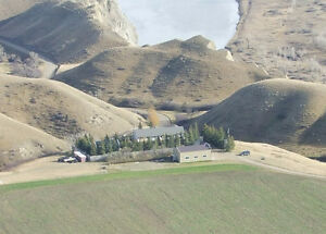 4.55 Acres overlooking the Oldman River Coulees