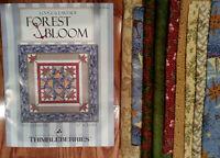 Thimbleberries Retired Quilt Kit - Forest Bloom