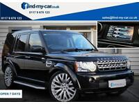 2012 12 Land Rover Discovery 4 3.0 SDV6 255 Auto HSE FULLY LOADED