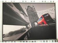 2 x Wall Pictures / Paintings - Bridges - Very Large