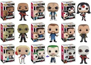 FUNKO DC COMICS SUICIDE SQUAD POPS at JJ SPORTS