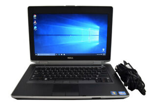 Dell Latitude Core i5 laptop Win 10 Webcam SSD backlit