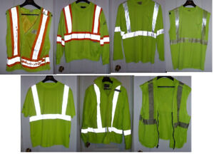 16 Pieces of Construction / Safety Clothes