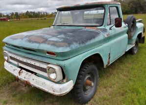 Rare 1966 K-10 Chev Truck Factory 4X4 Step Side 1/2 ton Running