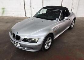 2001 BMW Z3 1.8i ROADSTER, with FULL LEATHER UPHOLSTERY