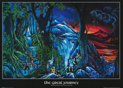 POSTER : FANTASY : THE GREAT JOURNEY    FREE SHIPPING !  #SM0061    RC21 Q