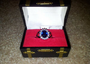 "Beautiful ""London Blue"" Ring $725.00 value London Ontario image 2"