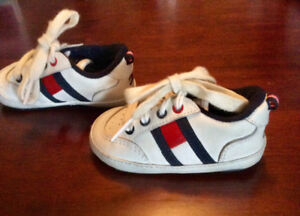 Tommy Hilfiger Baby Shoes, Leather Upper, Size 3 - St. Thomas