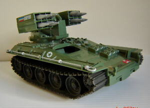 Vintage G.I. Joe Wolverine Armored Missile Vehicle - 1983