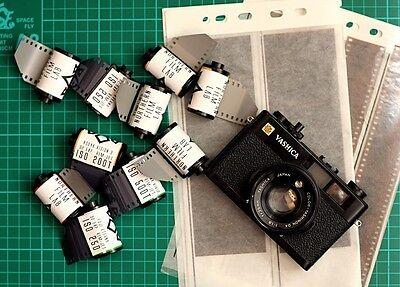 3 x Kodak Vision2 250D 35mm film cine movie still colour stock