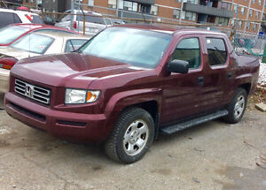 Honda Ridgeline LX  2007 4WD  Truck Accident free one owner
