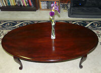 SOLD - Gibbard Solid Mahogany Coffee Table