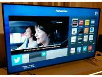 Panasonic TX-48CX400B Ultra HD 4K Freeview HD Smart 3D LED TV. NEW CONDITION FULLY WORKING