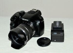 Sony A3000 20.1 mp mirrorless E mount camera & 18-55 sony lens