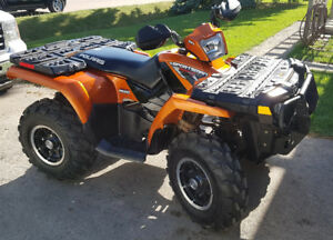 2008 Polaris Sportsman 800 EFI HO - low miles and hours