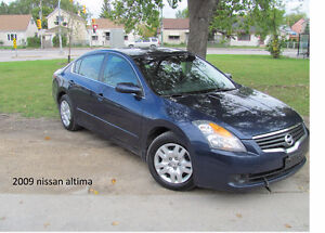 2009 Nissan Altima Sedan SAFETIED NOT REBUILD AND CLEAN TITLE