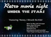 Retro Movie Night - Under the stars