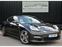 2010 Porsche Panamera 4.8 V8 Turbo PDK * Carbon Grey + Massive Spec *