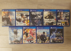 Playstation Games for Sale! Prices Below!