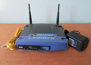 Linksys WRT54G v2.0 (16MB/4MB) Wireless-G router