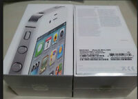 NEW IPHONE 4S 8GB NEUF ROGERS FIDO CHATR