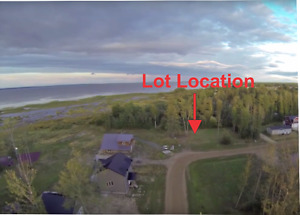 Fully Serviced Lake View Lot on Lesser Slave Lake