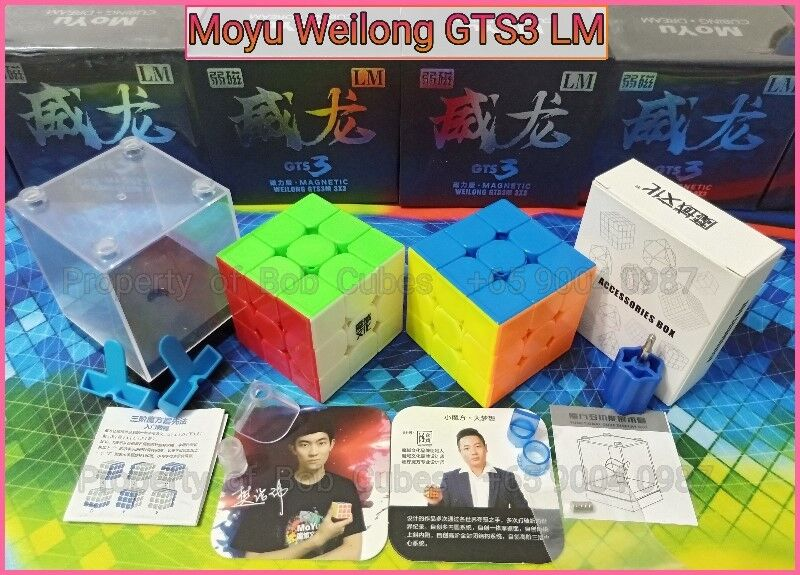 - Moyu Weilong GTS3 LM (Magnetic) 3x3 for sale in Singapore ( GTS3LM GTS 3LM GTS 3 LM )