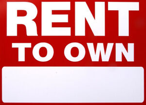 We Are Looking For Rent To Own With Down Payment