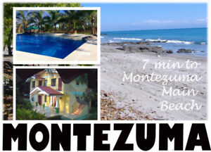 Spacious Tropical Apt w/ Pool & Acreage/Montezuma Bch COSTA RICA