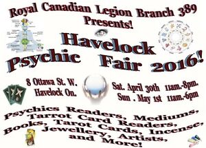 Havelock Psychic Fair Exibitors wanted!