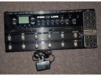 Line 6 Pod X3 Live - duel chain amp simulator and multi-effects