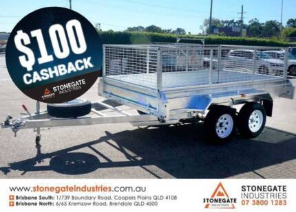 SALE! 10x5 Tandem Cage Box Trailer for Sale Coopers Plains Brisbane South West Preview