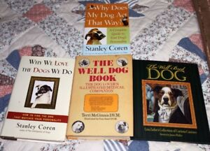 Dogs Dogs and Dog Books Lot 4