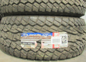 Falken Wildpeak A/T 01 37X13.50R22=100% Tread=2 tires $600 These