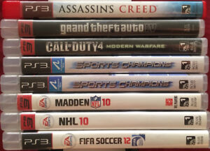 Sony PS3 Playstation 3 Games