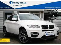 2013 13 BMW X6 3.0TD xDrive30d Auto BLACK LEATHER | NAV | 2 OWNERS