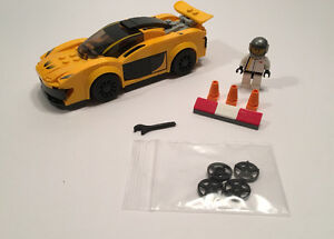 Lego Speed Champions and City Race Cars
