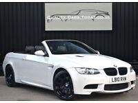 2010 BMW M3 4.0 V8 Convertible DCT Auto * Alpine White + £63k Original List *