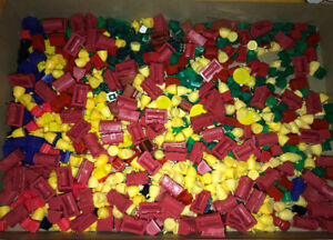 Huge Lot of Monopoly Houses & Buildings for Arts & Crafts