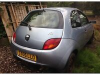 05 plate ford KA no mot hence price