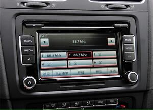 VW RCD510 touchscreen radio like new!!!