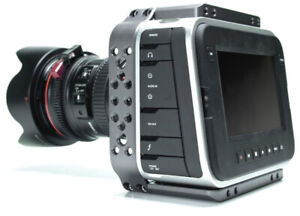 Blackmagic Cinema Camera EF mount with SSD and Viewfactor cage