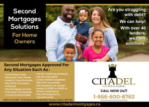 Home Equity Loans – HELOC – Second Mortgages Approved Today !