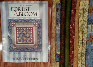 Thimbleberries Quilt Kit - Forest Bloom